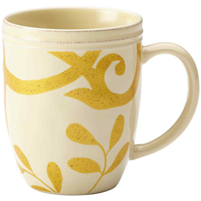Rachael Ray® Gold Scroll Beverage Mug