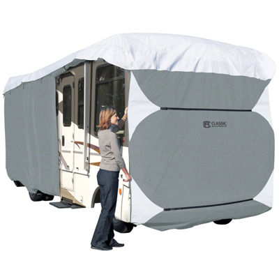 Classic Accessories 77863 PolyPro III Extra Tall Class A RV Cover, XT Model 8