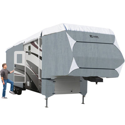 Classic Accessories 75263 PolyPro III 5th Wheel & Toy Hauler Cover, Model 1