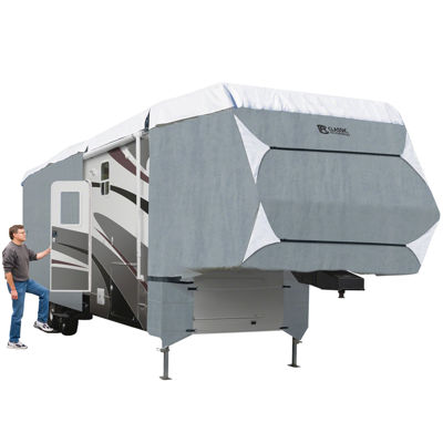 Classic Accessories 75663 PolyPro III 5th Wheel & Toy Hauler Cover, Model 5