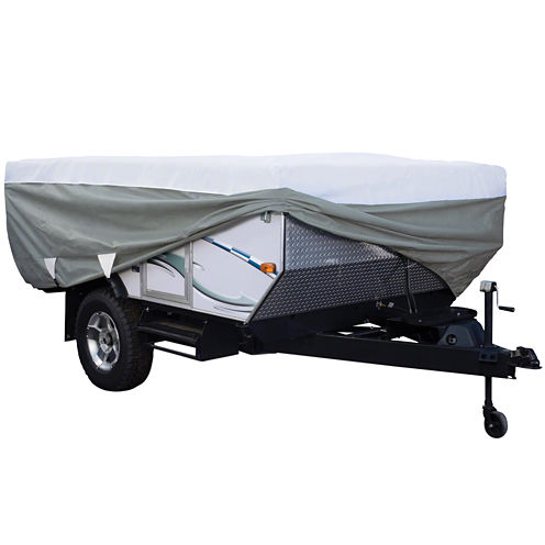 Classic Accessories 80-038-143106-00 PolyPro III Folding Camping Trailer Cover, Model 1