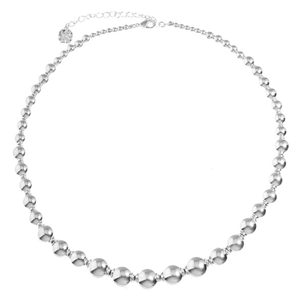 Monet Jewelry Silver Tone Statement Necklace