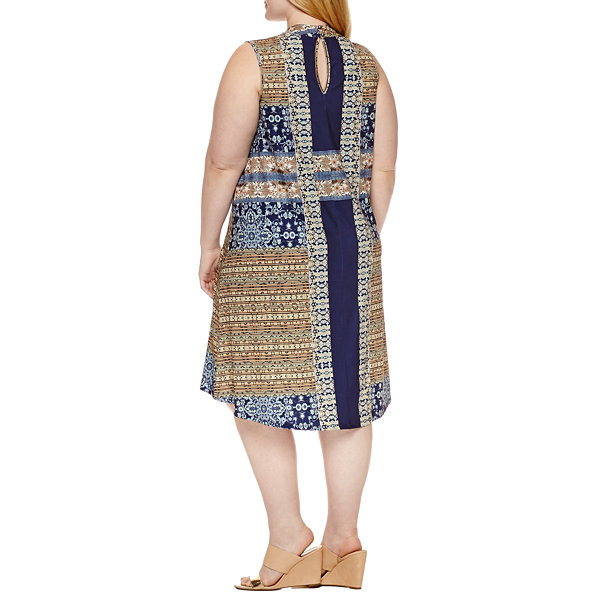 Unity World Wear Sleeveless Sundress-Plus