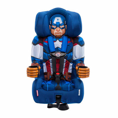 Kidsembrace Captain America Booster Car Seat