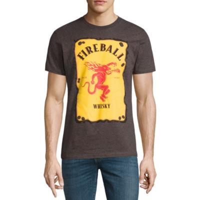 Fireball Label Short-Sleeve Graphic T-Shirt
