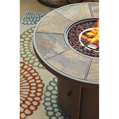 Outdoor by Ashley® Rhodes Fire Pit Table