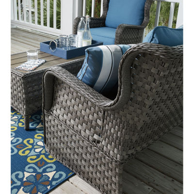 Outdoor by Ashley® Capri Glider and Table Set