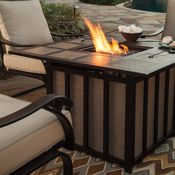 Outdoor by Ashley® Antigua Fire Pit Table