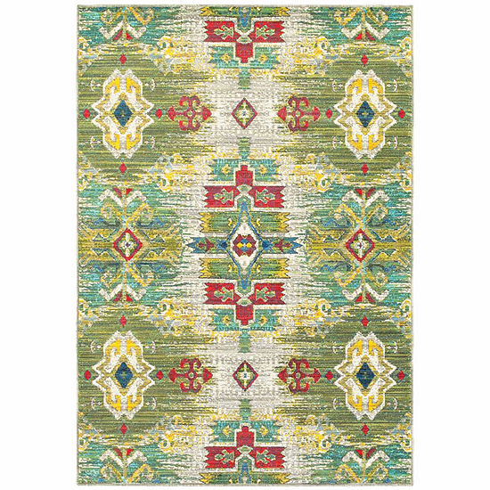 Covington Home Jocelyn Tribal Rectangular Indoor Rugs
