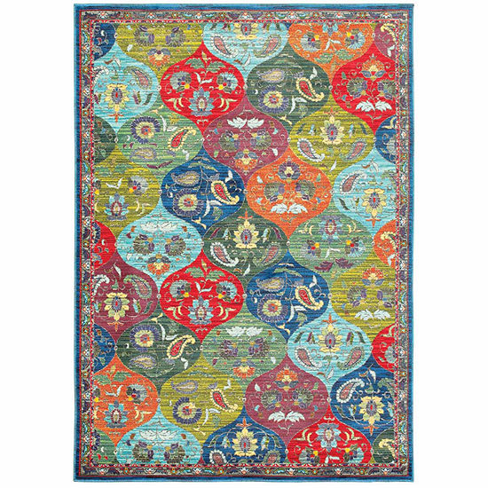 Covington Home Jocelyn Panel Rectangular Indoor Rugs