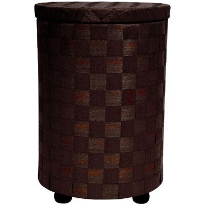 """Oriental Furniture 26"""" Natural Fiber Single Compartment Hamper"""""""