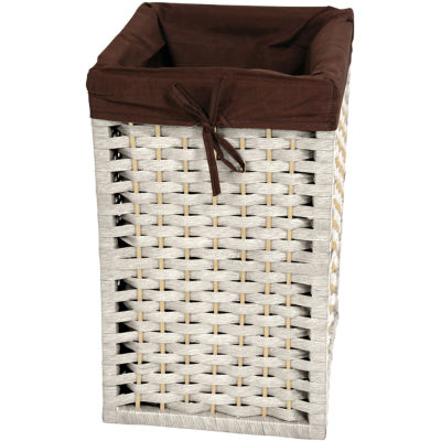 "Oriental Furniture 17"" Natural Fiber Basket"""