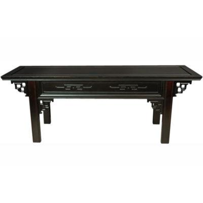 Oriental Furniture Japanese Altar Footstool