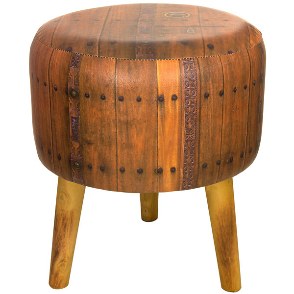 Oriental Furniture Italian Door Footstool
