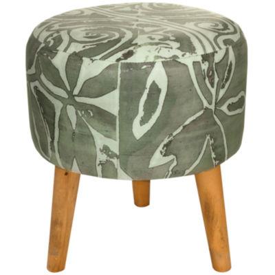 Oriental Furniture Oliva Footstool