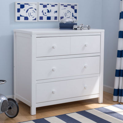 Delta Children 3-Drawer Nursery Dresser - Painted