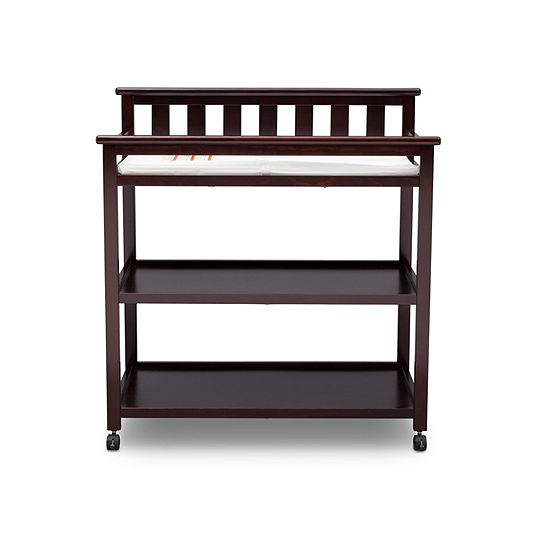 Delta Children Flat Top 2-Drawer 2-Shelf Changing Table