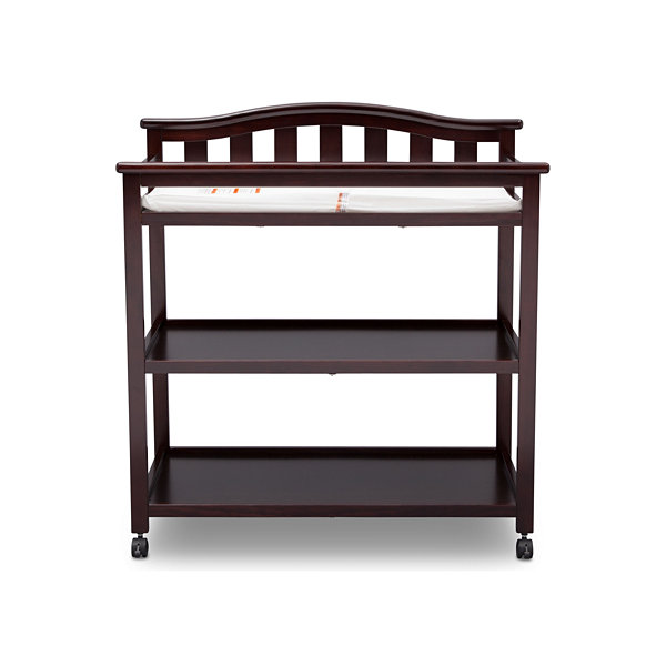 Delta Children Bell Top 2-Drawer 2-Shelf Changing Table
