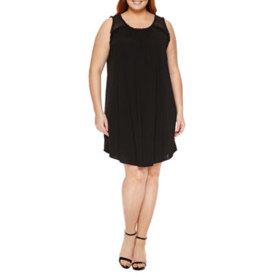Worthington Sleeveless Sheath Dress - Plus