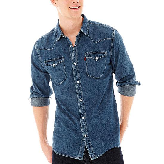 Levi's® Men's Long-Sleeve Denim Woven Shirt
