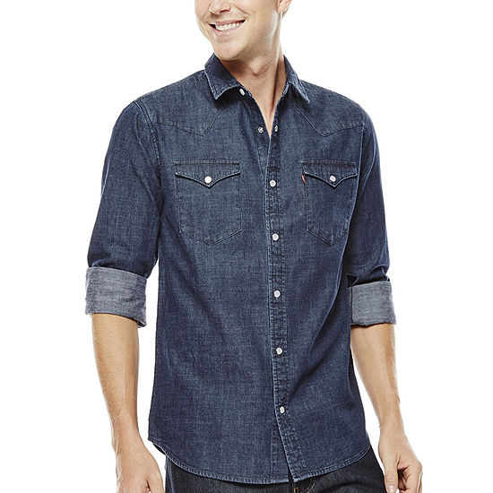 Levi's® Men's Long-Sleeve Denim Woven Shirt