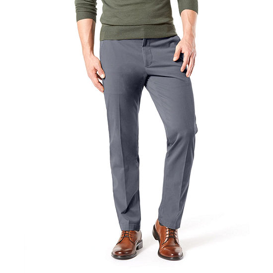 Dockers® Men's Straight Fit Workday Khaki Smart 360 Flex Pants D2