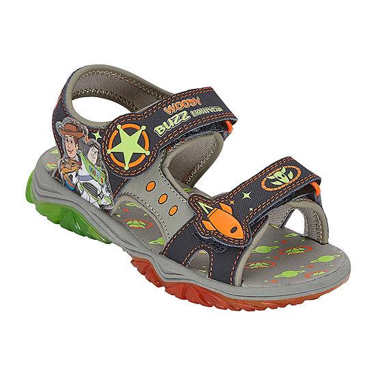 Disney Collection Toddler Boys Slide Sandals
