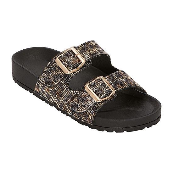 Bebe Avonlea Womens Footbed Sandals