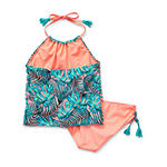 Arizona Little Girls Tankini Set