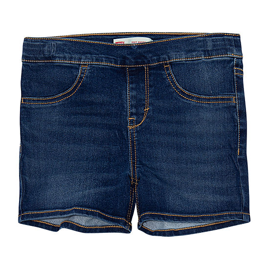 Levi's Big Girls Pull-On Shortie Short