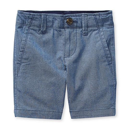 Arizona Little & Big Boys Stretch Adjustable Waist Chino Short
