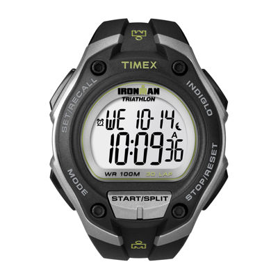 Timex Mens Black White Strap Watch-T5k4129j
