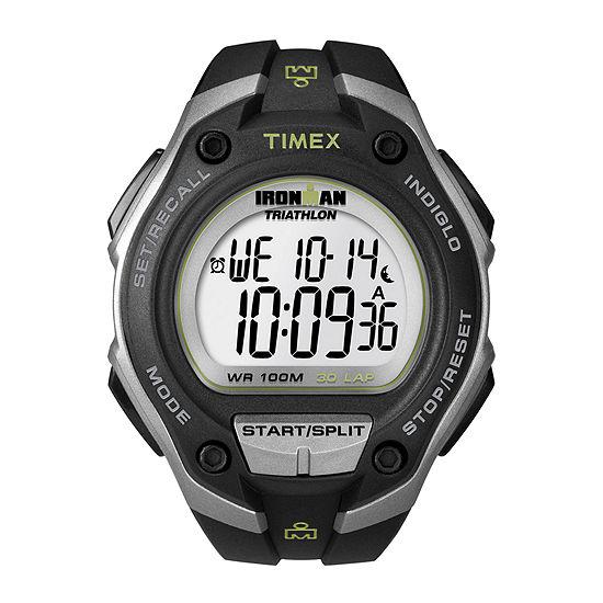 Timex Mens Black Strap Watch-T5k4129j
