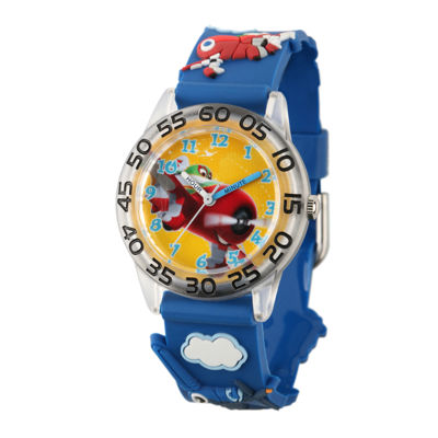Disney Planes Easy-Read Plastic Strap Watch