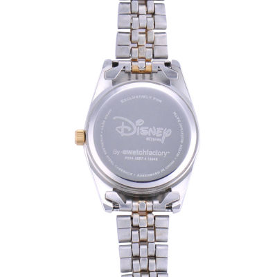Disney Status Womens Kermit the Frog Two-Tone Metal Bracelet Watch