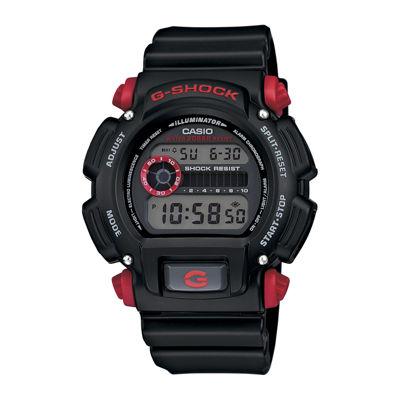 Casio® G-Shock Mens Black Resin Strap Sport Watch DW9052-1C4CR