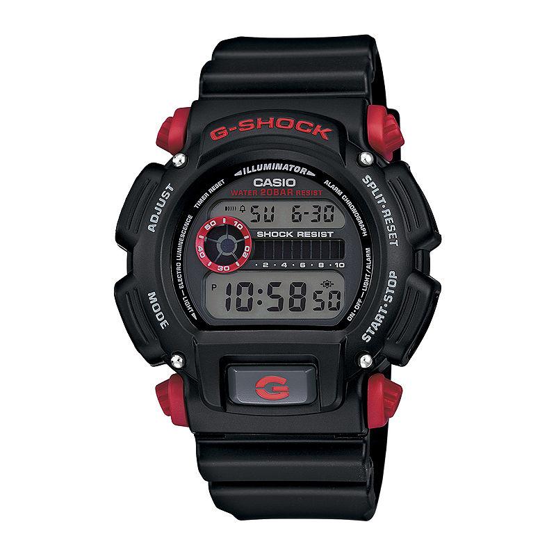 Casio G-Shock Mens Black Resin Strap Sport Watch DW9052-1C4CR