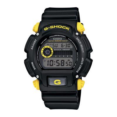 Casio® G-Shock Mens Black Resin Strap Sport Watch DW9052-1C9CR