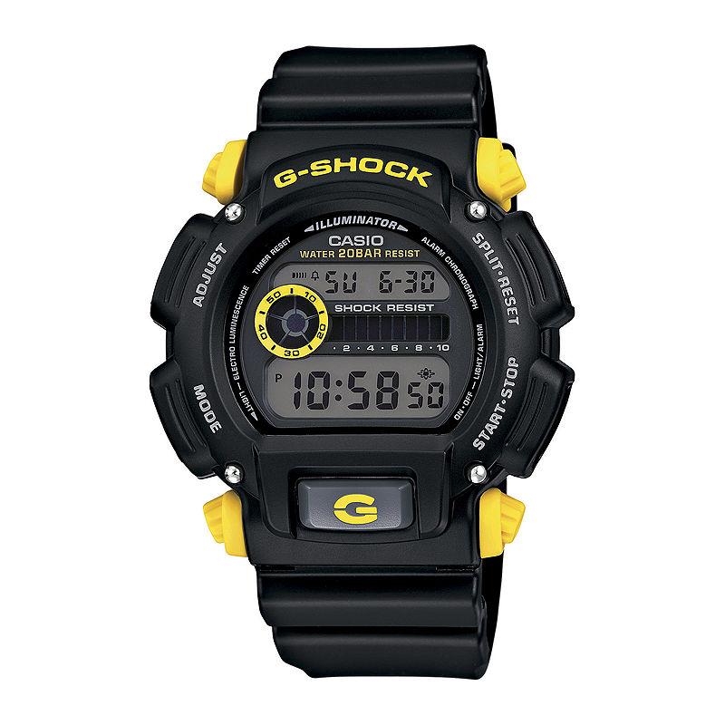 Casio G-Shock Mens Black Resin Strap Sport Watch DW9052-1C9CR