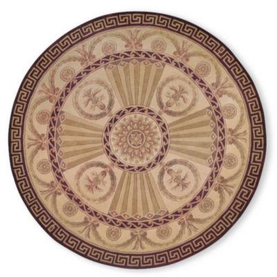 Momeni® Elizabeth Hand-Carved Wool Round Rug