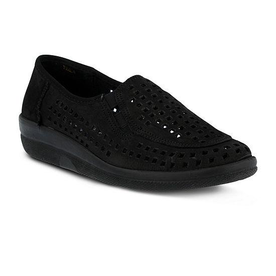 Spring Step Womens Twila Slip-On Shoe Round Toe