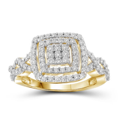 1 CT. T.W. Diamond 10K Yellow Gold Ring