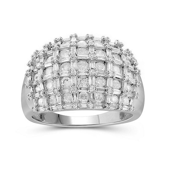 2 Ct Tw Diamond 10k White Gold Ring