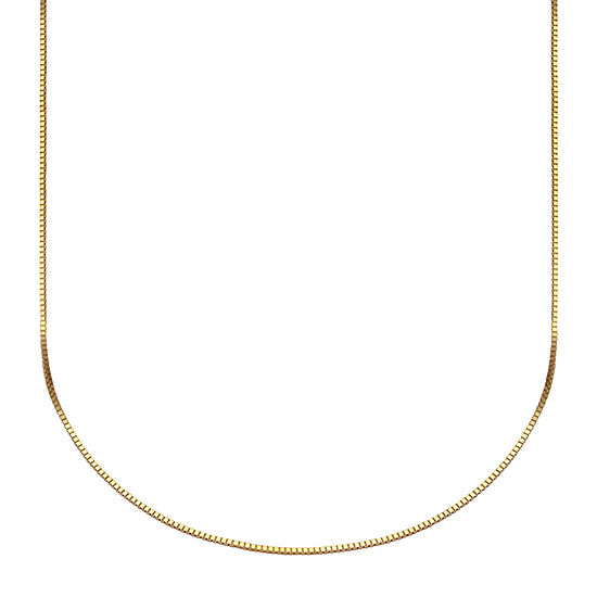 Made in Italy 10K Gold Venetian Box Chain Necklace, 20""