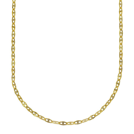 10K Gold Hollow Link Chain