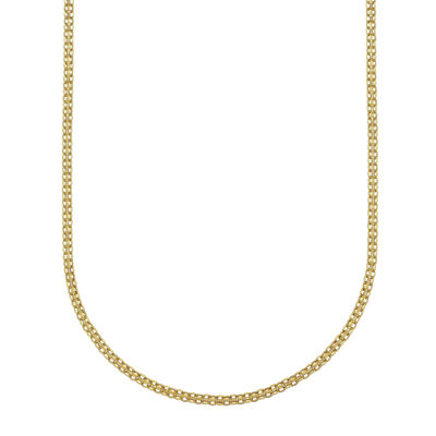 "14K Gold 18"" Light Bismark Chain"