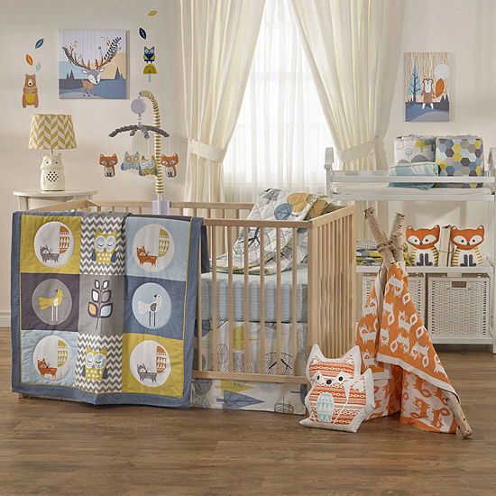 Woods - 4-pc. Crib Bedding Set