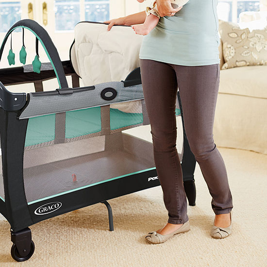 Graco Pack 'N Play With Reversible Napper & Changer Lx, Basin Play Yard