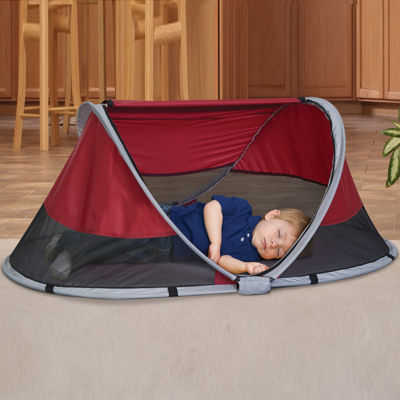 KidCo® PeaPod Cranberry Kids' Travel Bed