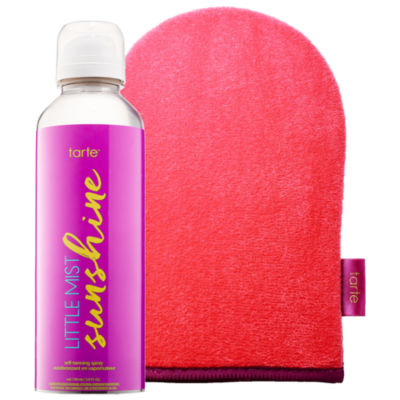tarte Little Mist Sunshine Self-Tanning Spray + Mitt